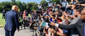 Trump to hold press conference with Italian president Sergio Mattarella