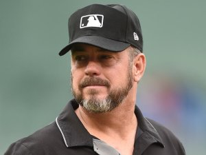 Major League Baseball umpire threatens 'Cival' War if Trump's impeached 'that way.'