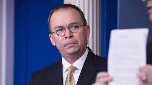 Mulvaney:  Aid Withheld From Ukraine To Boost Political Probe