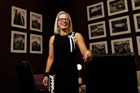 Kyrsten Sinema, Irritating the Left and Delighting the GOP