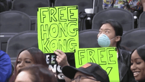Protestors Burn LeBron Jerseys in Hong Kong; Social Media burns LeBron in US