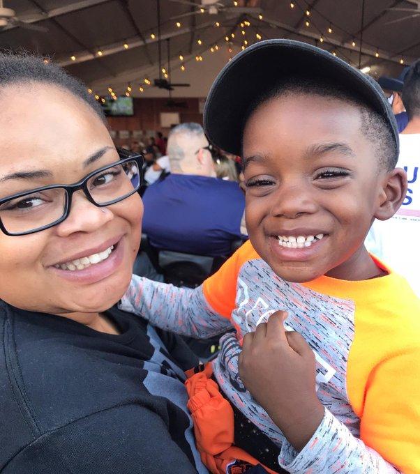 woman with nephew