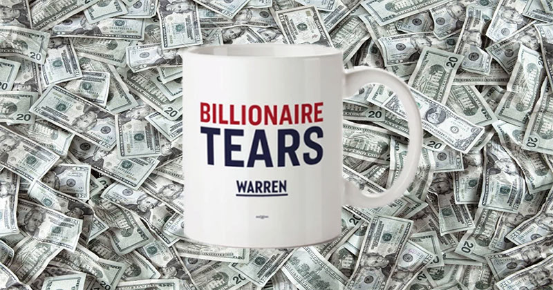 Elizabeth Warren's Boo Hoo Billionaire Smackdown
