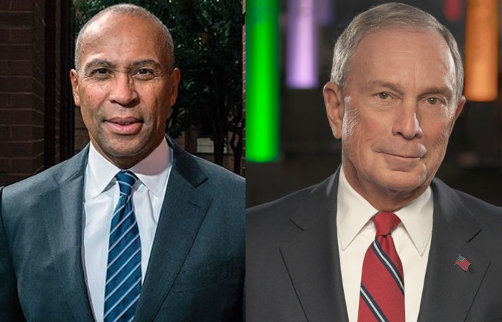 Some Democrats Smell a Rat in Bloomberg, Patrick Bids