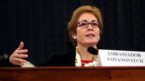 Audience applauds, GOP microphone turned off at end of Yovanovitch hearing