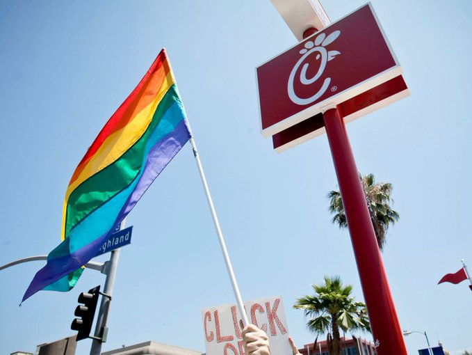 Chick-fil-A will stop donating to anti-LBGTQ organizations in 2020