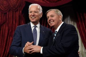 Biden camp: Lindsey Graham 'forfeited his conscience' over Ukraine