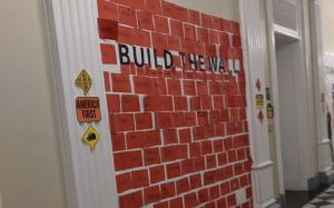 Kids attending White House sponsored Halloween Party told to 'build the wall'