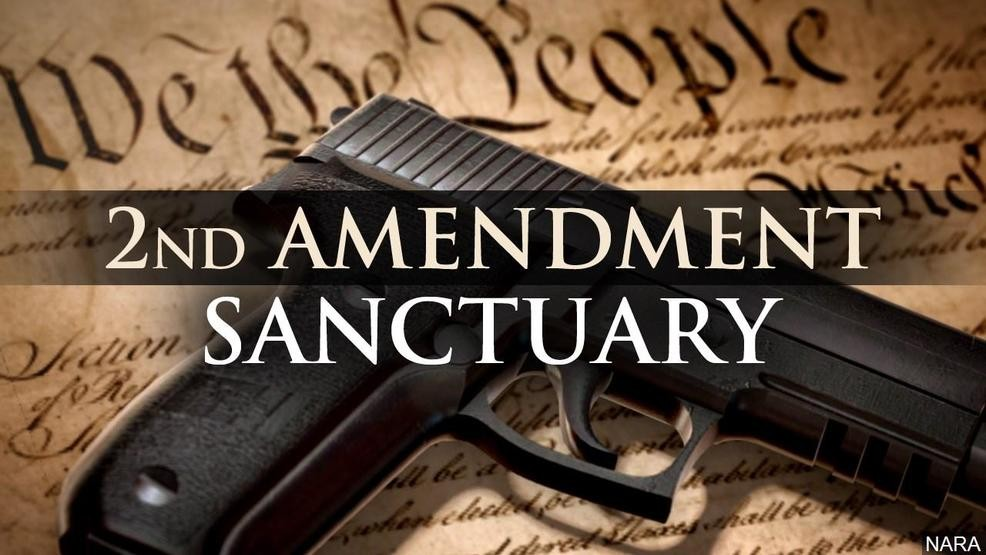 Virginia Areas Declaring Themselves  'Second Amendment sanctuaries'