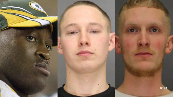 Green Bay Packer's Kabeer Gbaja-Biamila's 'brothers' came to Christmas pageant with 34 rounds of ammo