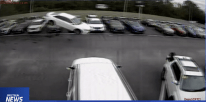 Florida Man Flies His Car Over Several Vehicles With the Greatest of Ease