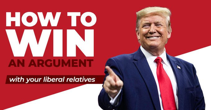 Trump's campaign on how to 'own the libs' this Christmas