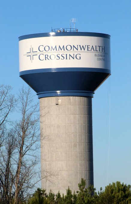 GUNZ! NC gun owner charged with shooting hole in water tower at Commonwealth Crossing
