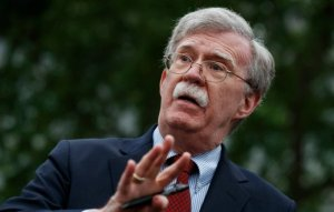 The White House issues a formal threat to John Bolton to stop him from publishing  his book