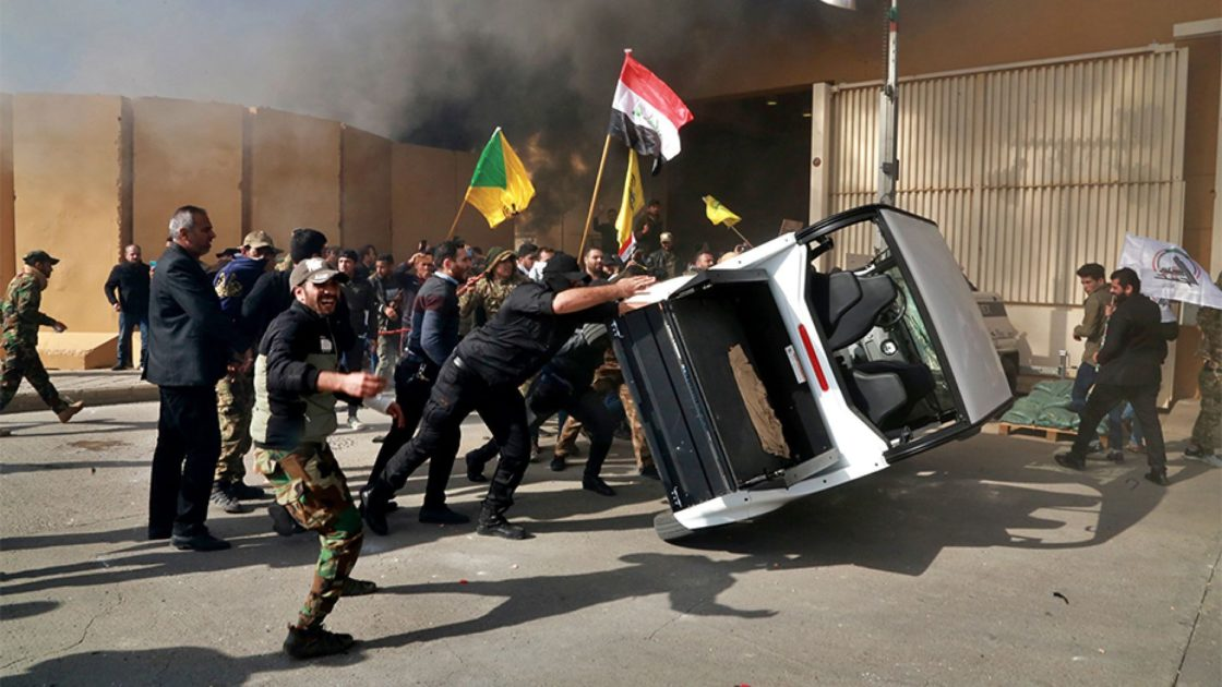 Supporters of Iranian-backed militia end siege of U.S. Embassy in Baghdad