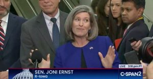 Joni Ernst lets the cat out of the bag: It's always been about Joe Biden
