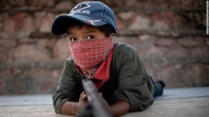 Cartel violence has gotten so bad in an indigenous area of Guerrero, Mexico that locals have formed an armed militia with boys as young as 6