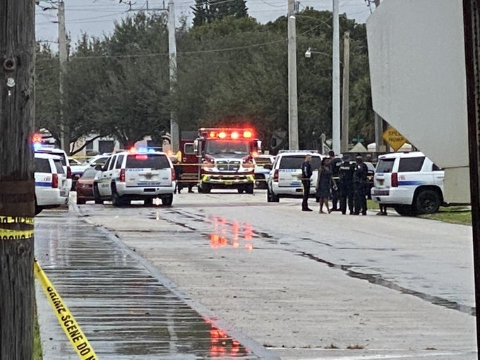 Shooting with multiple victims after a funeral in Riviera Beach, Florida