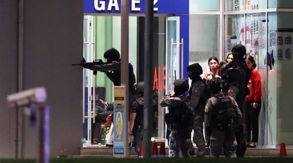 Thai soldiers killed 20, wounded dozens in Terminal 21 shopping mall shooting spree