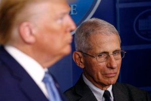 Where's Fauci? Doctor's absence is noticed at White House coronavirus briefing