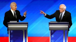 The two man, Democratic Debate