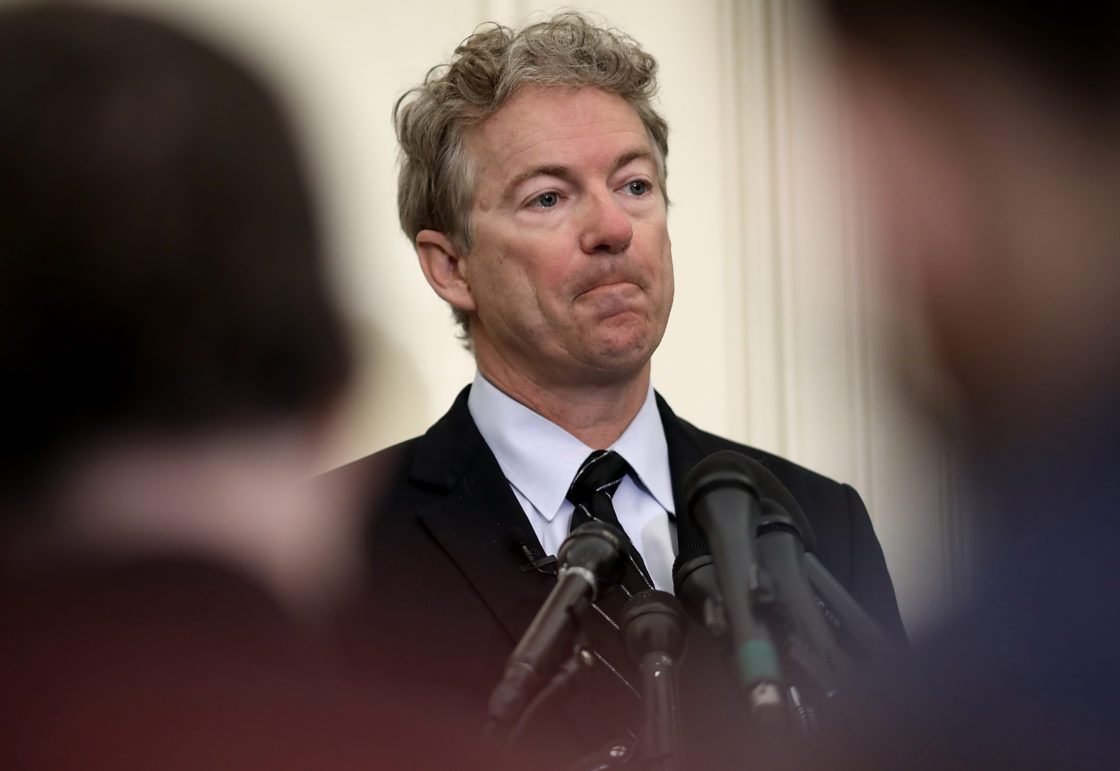 Rand Paul's poodle head explodes over President Biden's Inauguration; GOP criticizes executive orders
