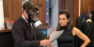 Rep. Matt Gaetz (Idiot-FL) wore a gas mask on the floor of the U.S. House