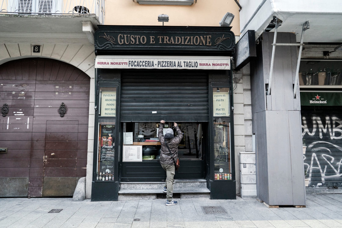Italy's Shutdown Starts Today: Italians are Staying Home