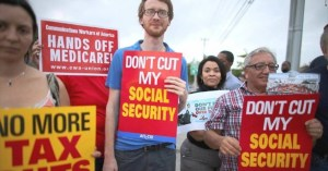Hey seniors! If re-elected, Trump's coming for your Social Security and Medicare