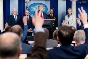 White House Coronavirus Warriors hold a press briefing: 3-22-20