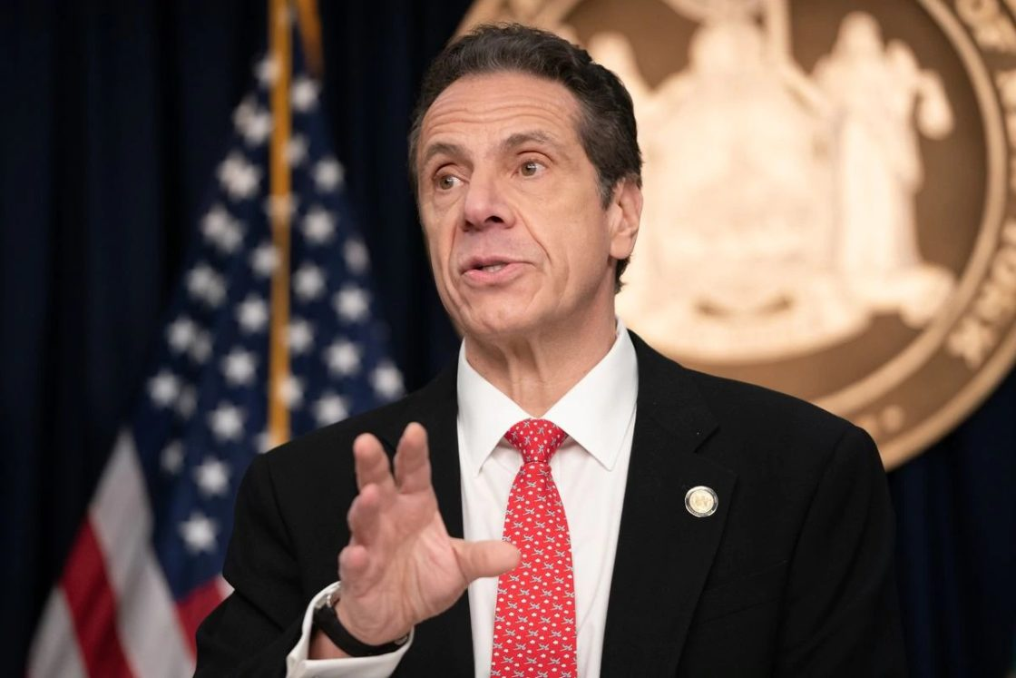 New York Governor Cuomo Says He'd Defy a Presidential Order Forcing Him to Reopen State