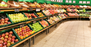 Chaos breaks out after man coughs and spits on grocery store's produce