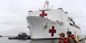 1000-Bed Navy Ship In New York Has Taken Only 20 Patients