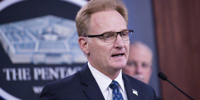 Acting Navy Secretary has resigned