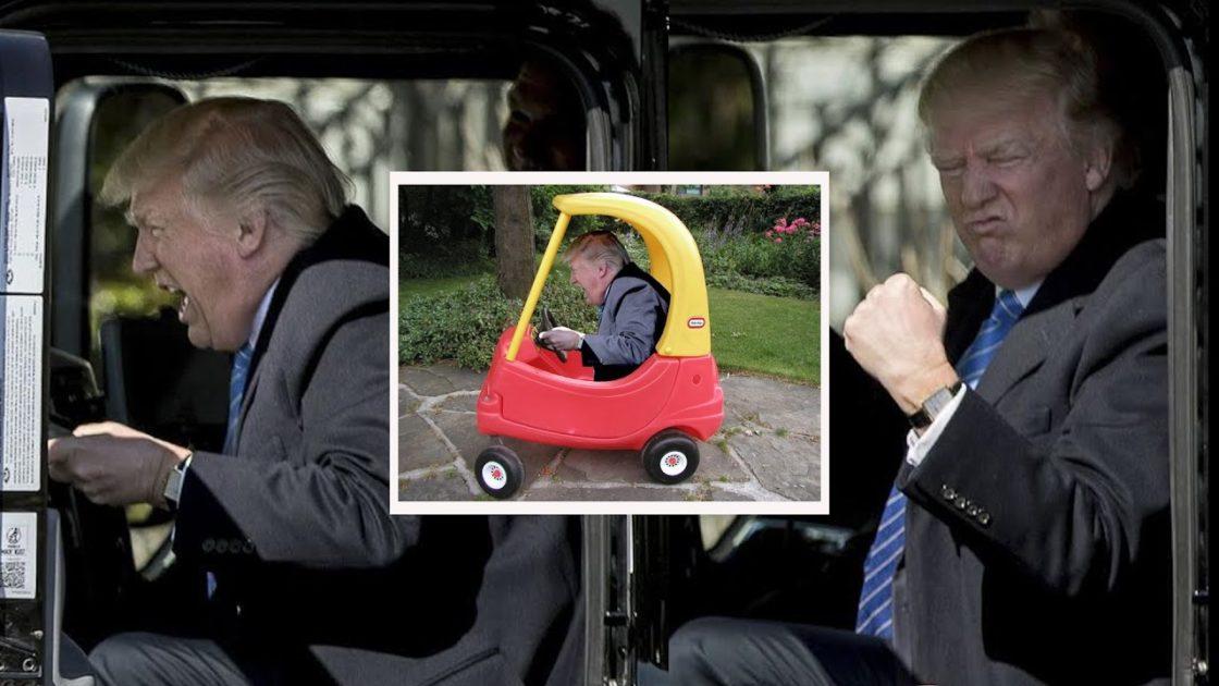 Trump celebrates American truckers