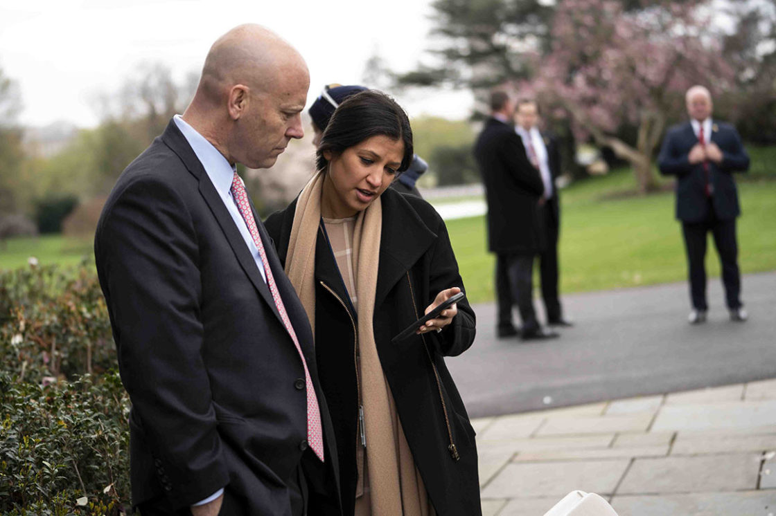 Katie Miller, Pence Aide and Wife of Stephen Miller, tests positive for coronavirus