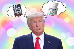 Trump claims he's taking Hydroxychloroquine