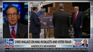 Chris Wallace Fact Checked  Donald Trump On Mail-In Ballot Fraud Claims
