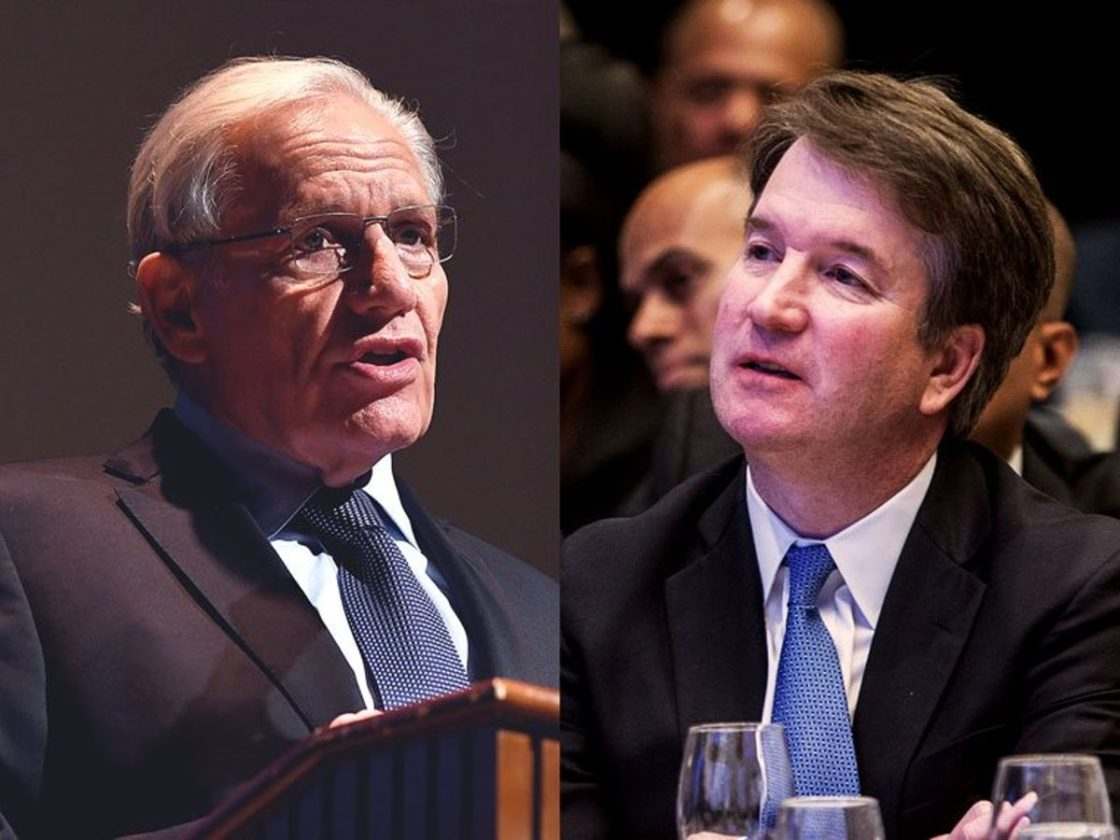 Bob Woodward talked out of exposing Brett Kavanaugh as anonymous source by Washington Post editor
