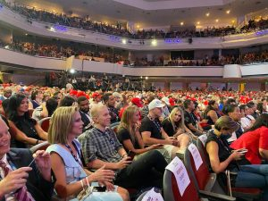 Arizona's AG sent  megachurch that hosted Trump a cease and desist letter