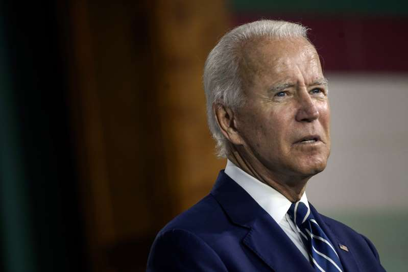 Joe Biden called  Donald Trump the first racist president in U.S. history