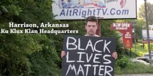 A BLM Sign in America's Most Racist Town — What Could Go Wrong?