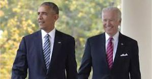 Obama and Biden Participate in Sit Down But Socially Distanced Conversation