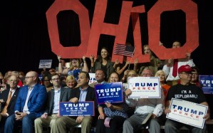 In the Ohio suburbs, Trump's support slides
