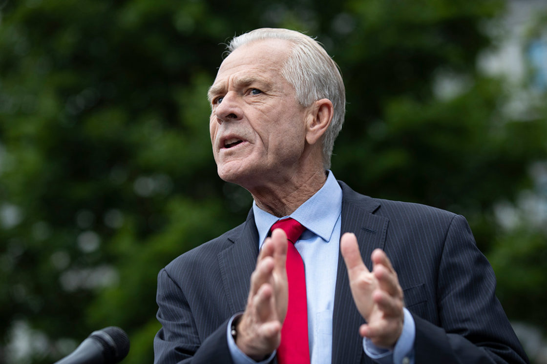 Wing Nut Peter Navarro claims the Chinese spawned COVID-19 then had Chinese nationalists affect the world
