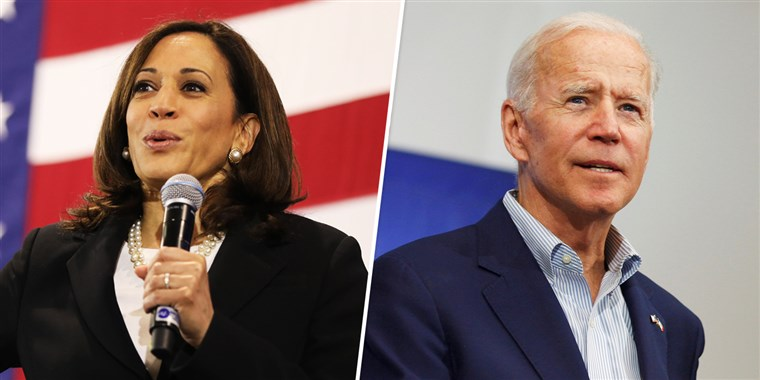 Joe Biden picks CA Senator Kamala Harris as his running mate