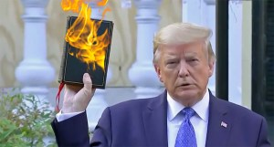 "OHIO: Trump Says Biden Will ""Hurt the Bible, Hurt God""!"