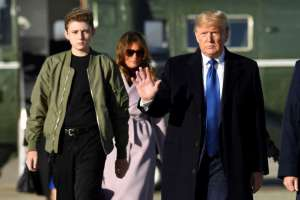 Barron Trump won't attend in-person classes at private school because of county-wide COVID-19 mandate