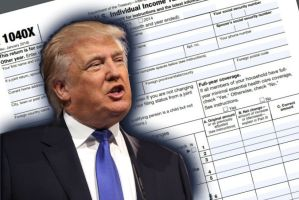 NYT: Trump's tax information released-$750.00 in tax liability