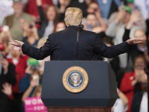 Trump Rally Crowd Chants 'Lock Her Up' About Michigan Gov. Gretchen Whitmer